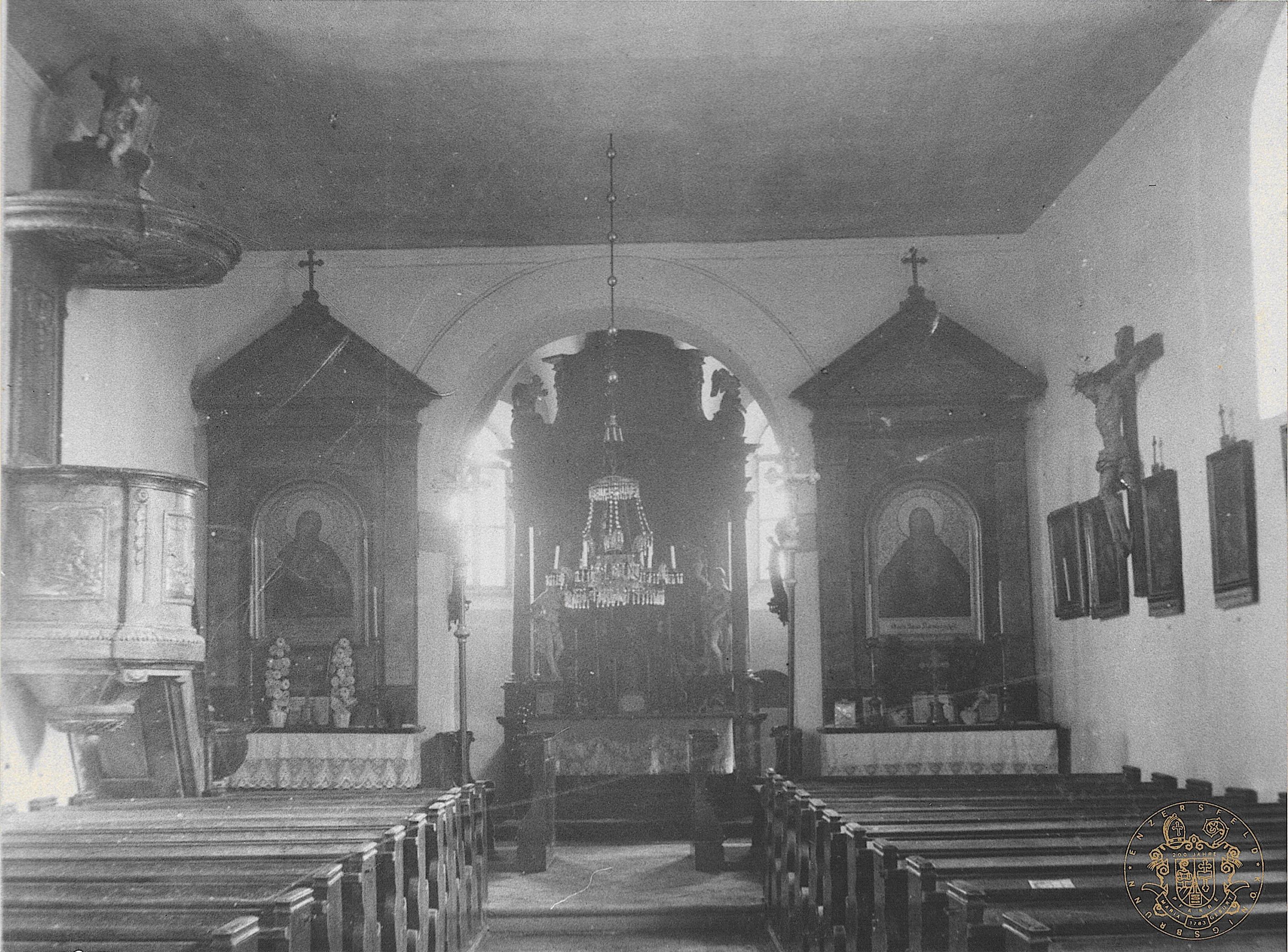 Schottenpfarren.at: Pfarrkirche Enzersfeld